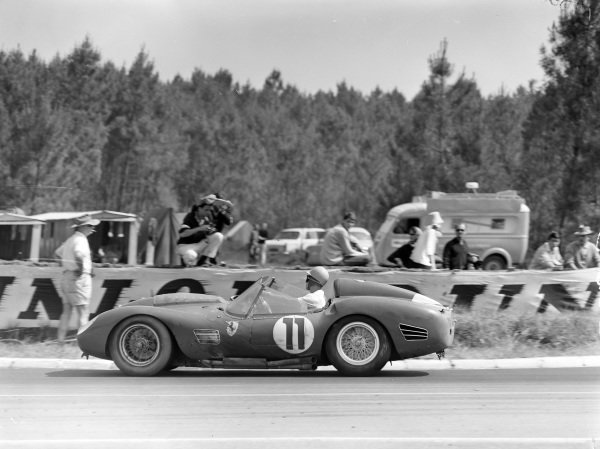 Paul Frère / Olivier Gendebien, Scuderia Ferrari SpA, Ferrari 250 TR 59/60.