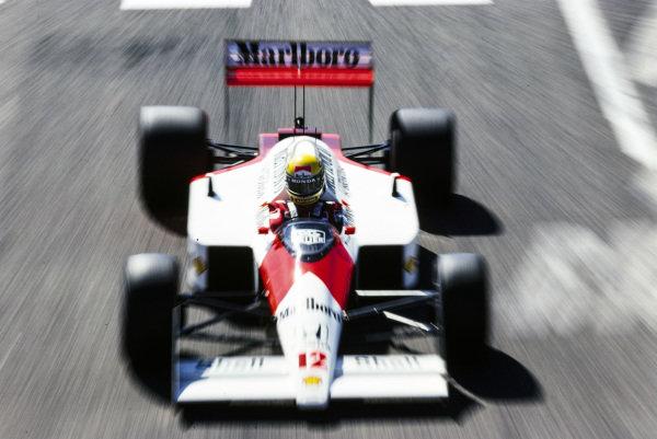 Ayrton Senna, McLaren MP4-4 Honda.