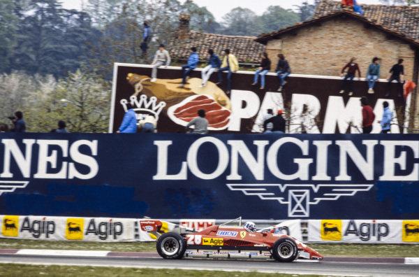 Didier Pironi, Ferrari 126C2.
