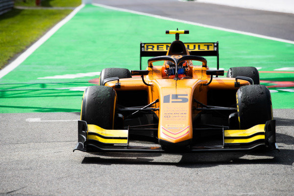AUTODROMO NAZIONALE MONZA, ITALY - SEPTEMBER 08: Jack Aitken (GBR, CAMPOS RACING) during the Monza at Autodromo Nazionale Monza on September 08, 2019 in Autodromo Nazionale Monza, Italy. (Photo by Joe Portlock / LAT Images / FIA F2 Championship)