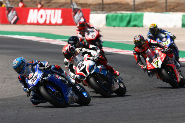 Marco Melandri, GRT Yamaha WorldSBK, Tom Sykes, BMW Motorrad WorldSBK Team.