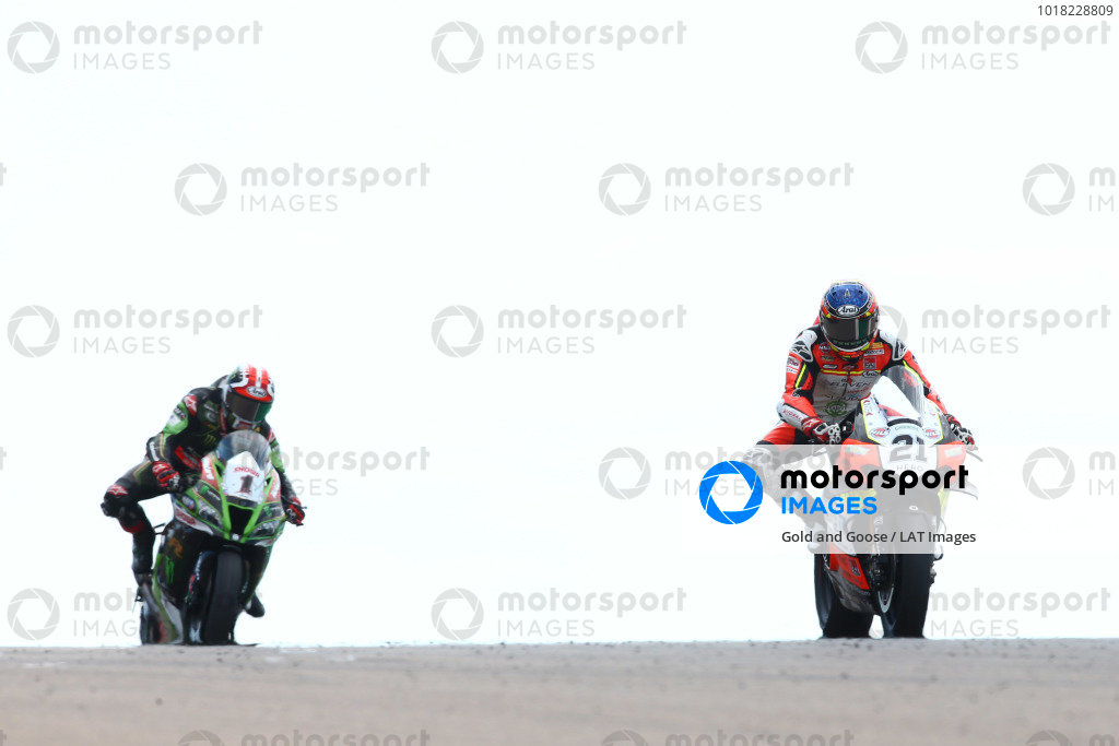 Michael Ruben Rinaldi, Team Goeleven, Jonathan Rea, Kawasaki Racing Team.
