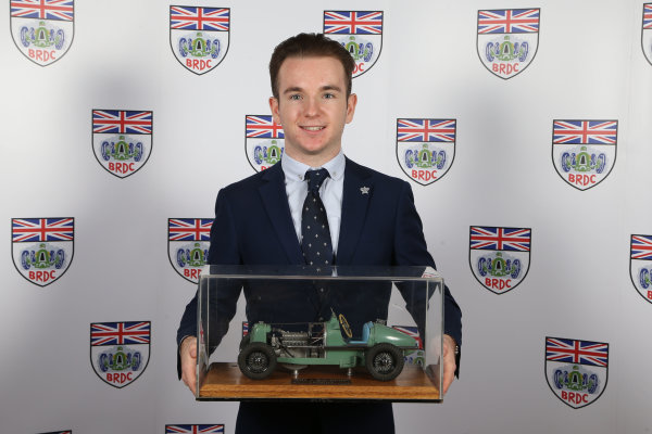 2015 British Racing Drivers Club Awards Grand Connaught Rooms, London Monday 7th December 2015 Charlie Robertson. World Copyright: Jakob Ebrey/LAT Photographic ref: Digital Image Robertson-02