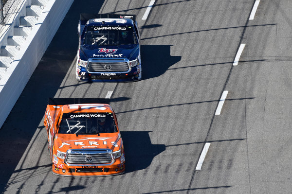1-2 April, 2016, Martinsville, Virginia USA Daniel Suarez (51), William Byron (9) ?2016, John Harrelson / LAT Photo USA
