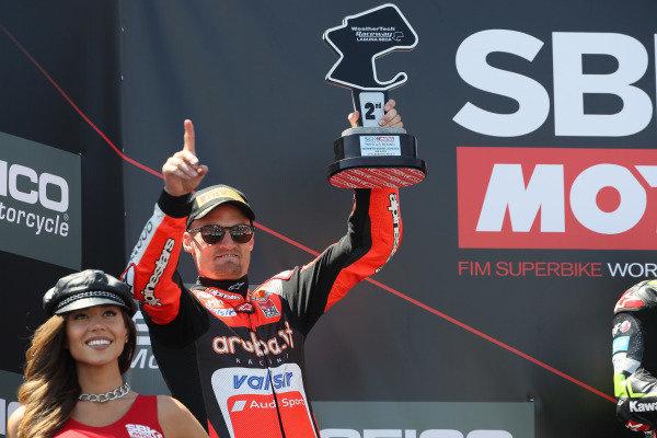 Chaz Davies, Aruba.it Racing-Ducati SBK Team podium
