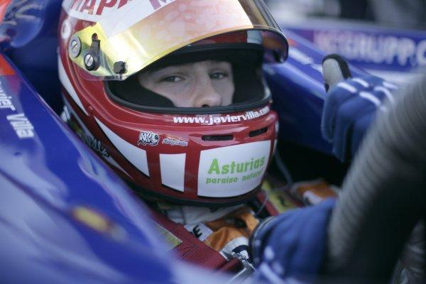 2008 GP2 Series. Round 1. Sunday Race.Barcelona, Spain. 27th April 2008Javier Villa (ESP, Racing Engineering). World Copyright: Alastair Staley/GP2 Series Media Service.ref:__P9O6066 jpg
