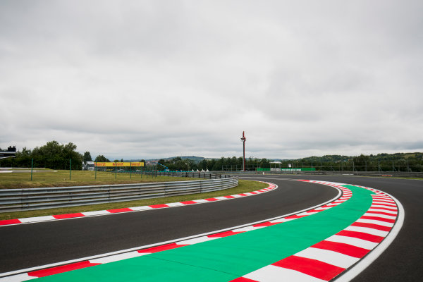 2017 GP3 Series Round 4.  Hungaroring, Budapest, Hungary. Thursday 27 July 2017. A view of the circuit. Photo: Zak Mauger/GP3 Series Media Service. ref: Digital Image _56I0019