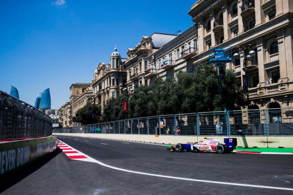 2017 FIA Formula 2 Round 4. Baku City Circuit, Baku, Azerbaijan. Friday 23 June 2017. Sergio Canamasas (ESP, Trident)  Photo: Zak Mauger/FIA Formula 2. ref: Digital Image _54I9422