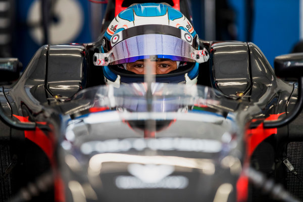 2017 FIA Formula 2 Round 4. Baku City Circuit, Baku, Azerbaijan. Friday 23 June 2017. Nyck De Vries (NED, Rapax)  Photo: Zak Mauger/FIA Formula 2. ref: Digital Image _56I6761