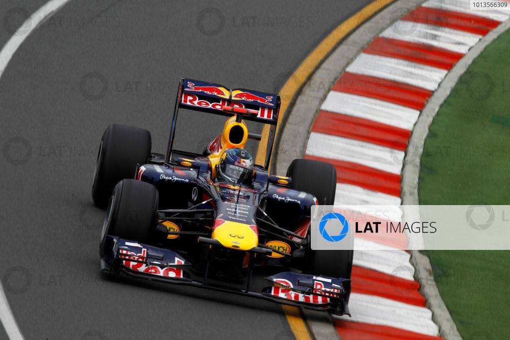Albert Park, Melbourne, Australia25th March 2011.Sebastian Vettel, Red Bull Racing RB7 Renault.World Copyright: Andrew Ferraro/LAT Photographicref: Digital Image _Q0C7935