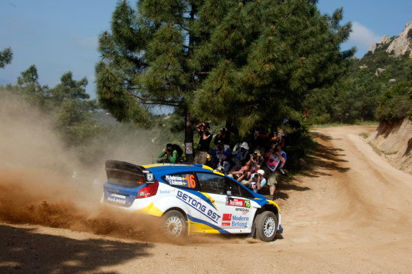 Round 05-Rally Italia Sardegna. 05th-08th May 2011.PG Andersson, Ford WRC, Action.Worldwide Copyright: McKlein/LAT
