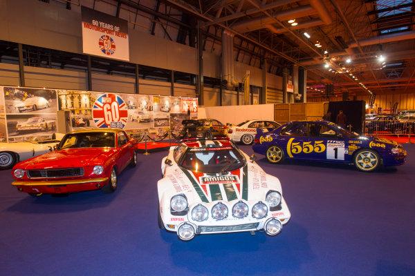 Autosport International Exhibition. National Exhibition Centre, Birmingham, UK. Thursday 8 January 2015. The Motorsport News stand. World Copyright: LAT Photographic. ref: Digital Image EL0G1874