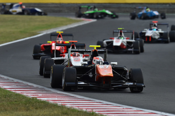 Luca Ghiotto (ITA) Trident at GP3 Series, Rd4, Hungaroring, Hungary, 24-26 July 2015.