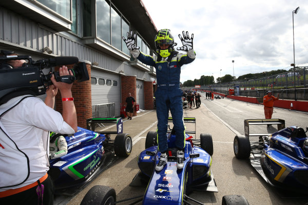 2017 British F3 Championship, Brands Hatch, 5th-6th August 2017, Enaam Ahmed (GBR) Carlin BRDC F3 World Copyright. JEP/LAT Images