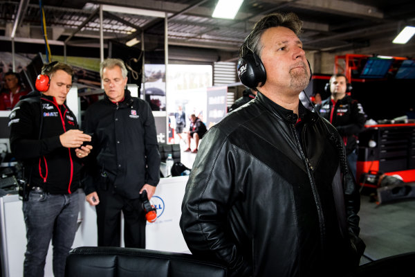2017 Supercars Championship Round 11.  Bathurst 1000, Mount Panorama, New South Wales, Australia. Tuesday 3rd October to Sunday 8th October 2017. Michael Andretti, Andretti Autosport. World Copyright: Daniel Kalisz/LAT Images Ref: Digital Image 061017_VASCR11_DKIMG_4695.jpg