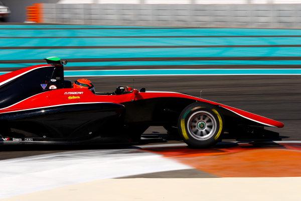 2017 GP3 Series Test 5. Yas Marina Circuit, Abu Dhabi, United Arab Emirates. Thursday 30 November 2017. Nikita Mazepin (RUS, ART Grand Prix).  Photo: Joe Portlock/GP3 Series Media Service. ref: Digital Image _R3I7724