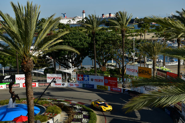 15-16 April, 2016, Long Beach, California USA 3, Chevrolet, Corvette C7, GTLM, Antonio Garcia, Jan Magnussen ©2016, Richard Dole LAT Photo USA