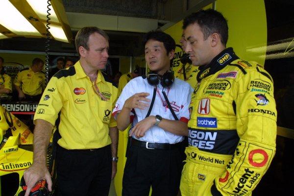 2001 Japanese Grand Prix - Saturday / QualifyingSuzuka, Japan. 21st October 2001.Jean Alesi.World Copyright - LAT Photographicref: 8 9 MB Digital