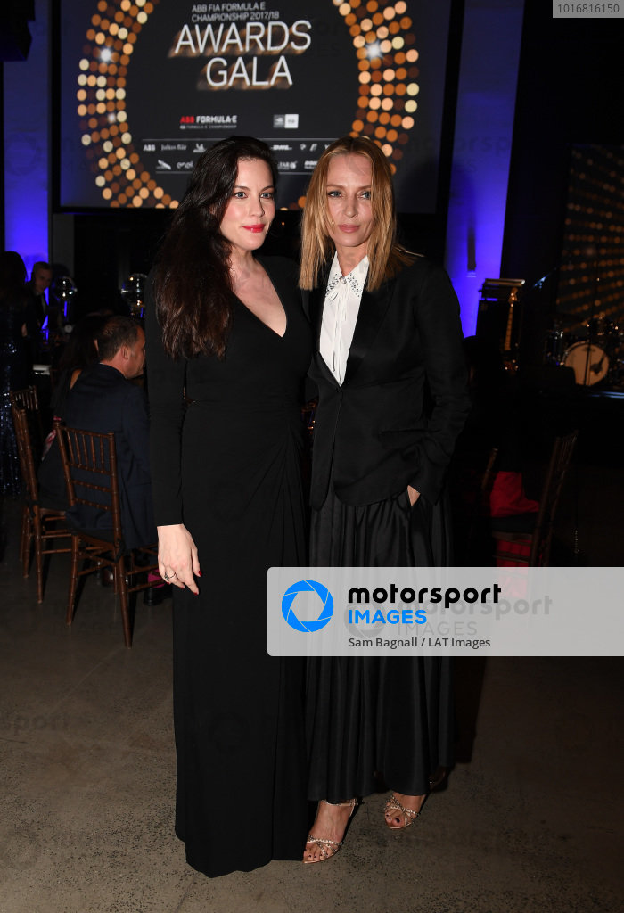 Liv Tyler and Uma Thurman attend the Awards Gala