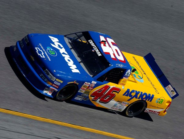 2003 NASCAR Daytona 500 Speedweeks,13,February 2003 Daytona Craftsman Truck Series -13,Feb 2003-Dennis Setzer-World Copyright-RobtLeSieur2003LAT Photographic