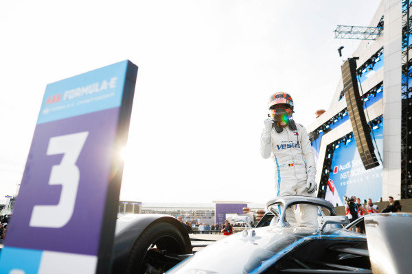 Stoffel Vandoorne (BEL), Mercedes Benz EQ Formula, 3rd position