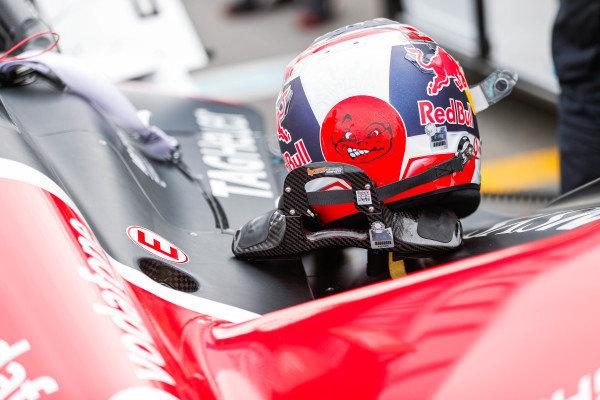 Helmet of Neel Jani (CHE), Tag Heuer Porsche, Porsche 99x Electric