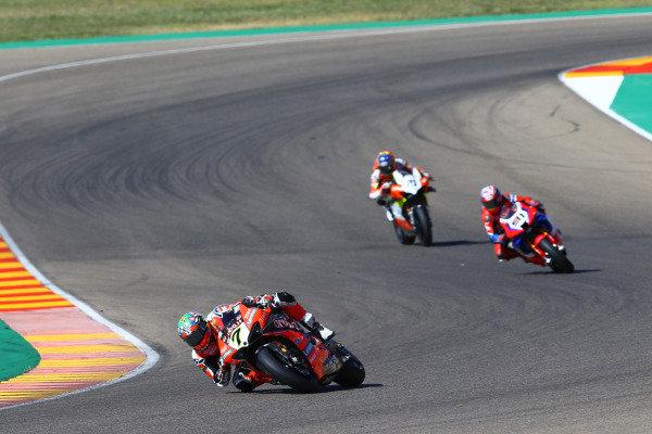 Chaz Davies, ARUBA.IT Racing Ducati, Leon Haslam, Team HRC.