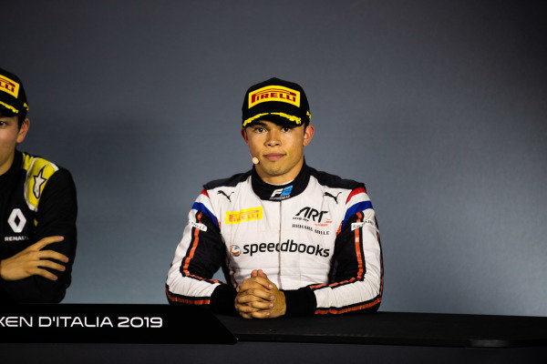 AUTODROMO NAZIONALE MONZA, ITALY - SEPTEMBER 08: Nyck De Vries (NLD, ART GRAND PRIX) during the Monza at Autodromo Nazionale Monza on September 08, 2019 in Autodromo Nazionale Monza, Italy. (Photo by Joe Portlock / LAT Images / FIA F2 Championship)