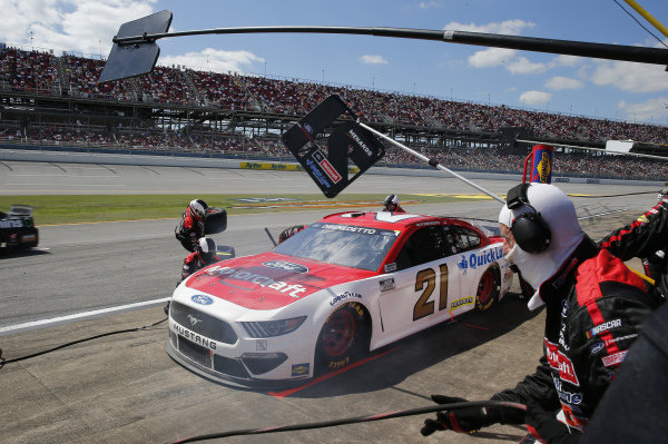#21: Matt DiBenedetto, Wood Brothers Racing, Ford Mustang Motorcraft Quick Lane