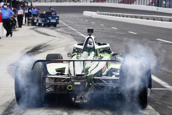 #45: Santino Ferrucci, Rahal Letterman Lanigan Racing Honda