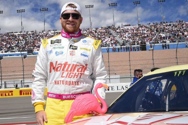 #37: Chris Buescher, JTG Daugherty Racing, Chevrolet Camaro Natural Light Naturdays