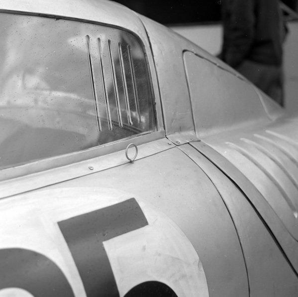 Richard von Frankenberg / Wolfgang von Trips, Porsche KG, Porsche 550A/4 RS Coupe.