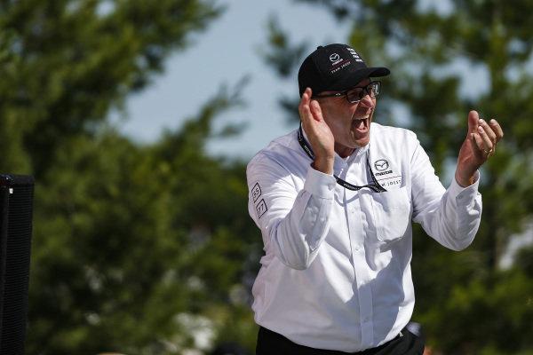 Mazdas Director of Motorsport John Doonan