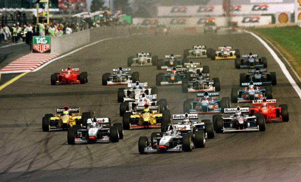 1997 Luxembourg Grand Prix.