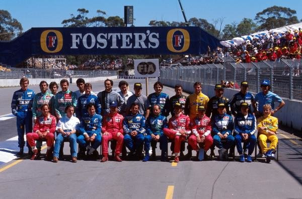 The driver lineup of 1990