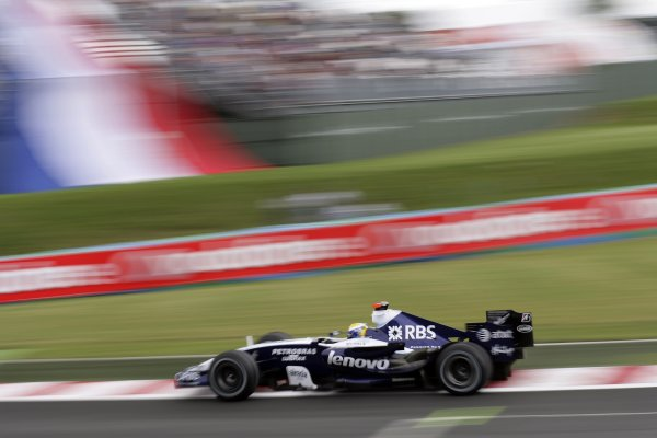 2007 French Grand Prix - Friday PracticeCircuit de Nevers Magny Cours, Nevers, France.29th June 2007.Nico Rosberg, Williams FW29 Toyota. Action. World Copyright: Steven Tee/LAT Photographicref: Digital Image YY2Z4251