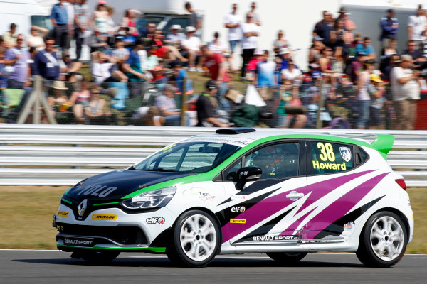 2014 Renault Clio Cup, Snetterton, Norfolk. 1st - 3rd August 2014. Mark Howard (GBR) 20Ten Racing Renault Clio Cup. World Copyright: Ebrey / LAT Photographic.
