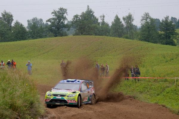 Round 8Rally Poland 200925th - 28th June 2009Jari-Matti Latvala, Ford, WRC, ActionWorldwide Copyright: McKlein/LAT