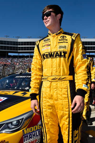 6-8 November, 2015, Fort Worth, Texas USA Erik Jones, DeWalt Toyota Camry (20) ©2015, John Harrelson / LAT Photo USA