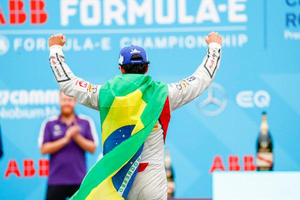 Lucas Di Grassi (BRA), Audi Sport ABT Schaeffler, Audi e-tron FE04, in 2nd position.