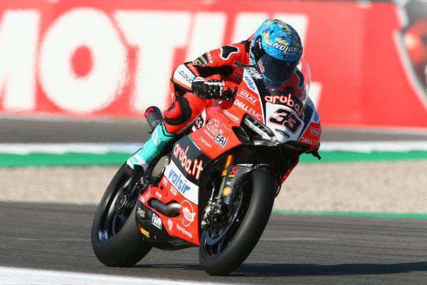 Marco Melandri, Aruba.it Racing-Ducati SBK Team.