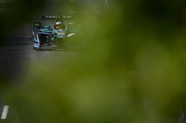 2016/2017 FIA Formula E Championship. Round 12 - Montreal ePrix, Canada Sunday 1 January 2012. Mitch Evans (NZL), Jaguar Racing, Spark-Jaguar, Jaguar I-Type 1. Photo: Patrik Lundin/LAT/Formula E ref: Digital Image PL1_3182 copy