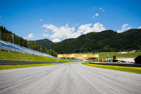 2017 FIA Formula 2 Round 5. Red Bull Ring, Spielberg, Austria. Thursday 6 July 2017. A view of the track. Photo: Zak Mauger/FIA Formula 2. ref: Digital Image _56I9982