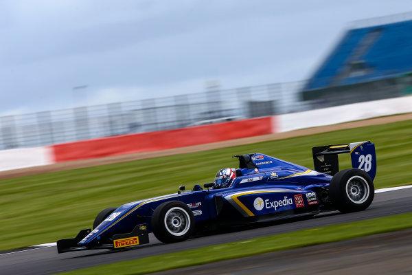 2017 BRDC British Formula 3 Championship,  Silverstone, 11th-12th June 2017, Cameron Das (USA) Carlin BRDC F3. World copyright. JEP/LAT Images