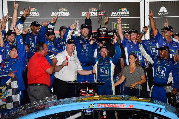 Monster Energy NASCAR Cup Series Coke Zero 400 Daytona International Speedway, Daytona Beach, FL USA Saturday 1 July 2017 Ricky Stenhouse Jr, Roush Fenway Racing, Fifth Third Bank Ford Fusion World Copyright: Rusty Jarrett LAT Images