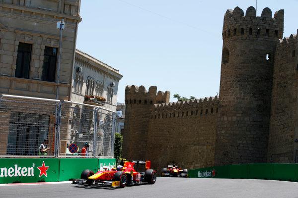 Baku City Circuit, Baku, Azerbaijan. Saturday 24 June 2017. Gustav Malja (SWE, Racing Engineering)  World Copyright: Hone/LAT Images ref: Digital Image _ONY9679