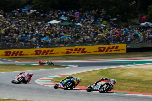 2017 MotoGP Championship - Round 6 Mugello, Italy Sunday 4 June 2017 Andrea Dovizioso, Ducati Team World Copyright: Gold & Goose Photography/LAT Images ref: Digital Image 674975