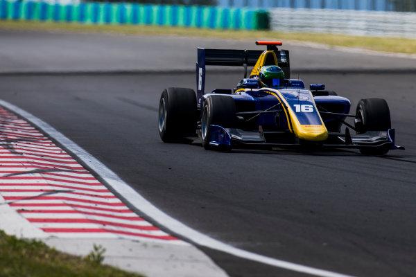 2017 GP3 Series Test 4.  Hungaroring, Budapest, Hungary. Wednesday 7 June 2017. Bruno Baptista (BRA, DAMS)  Photo: Zak Mauger/GP3 Series Media Service. ref: Digital Image _56I2040