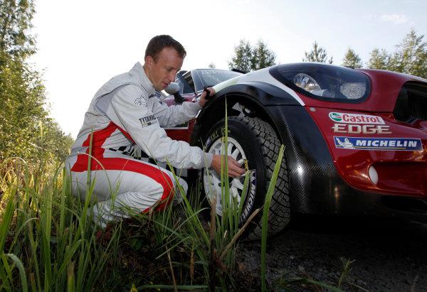 Round 8, Rally Finland, 28th - 30th July 2011Kris Meeke, MINI, PortraitWorldwide Copyright: LAT/McKlein
