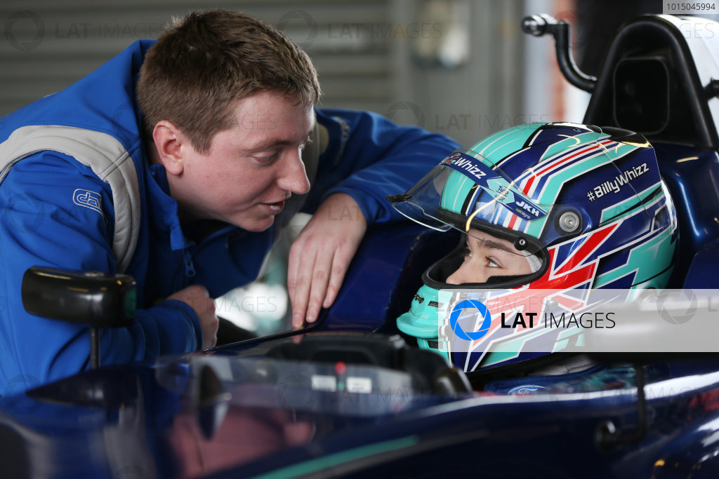 Billy Monger Carlin test